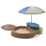 Песочница Step2 Песочница со столиком и зонтиком