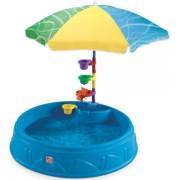 Песочница Step2 Песочница-бассейн Play & Shade Pool